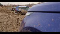 жЫпы - Range Rover SVR против всех на бездорожье.