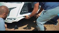жЫпы - Роскошь - в г@#но !!! Range Rover SVR vs Lexus LX570 offroad.