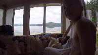 Суровые уральские будни #10 - утро на тургояке. Вороны. Раки.