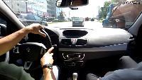 Автомобили класса С - Renault Fluence Тест-драйв.