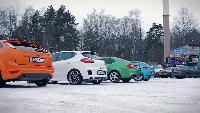 Автомобили класса С - Сравниваем: Ceed GT, Octavia RS, Leon FR, Focus ST.