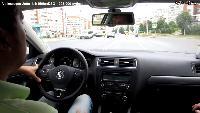 Автомобили класса С - Volkswagen Jetta Тест-драйв.