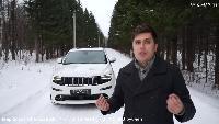 Полноразмерные кроссоверы - Jeep Grand Cherokee SRT 2014.