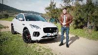 Разное - Новый Jaguar E-pace тест-драйв.