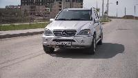 Разное - Старый, но быстрый Mercedes-Benz ML AMG