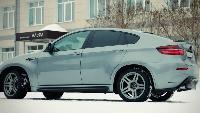 Среднеразмерные кроссоверы - BMW X6M (900л.с.)