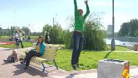 Даёшь молодёжь! Молодая семья Валера и Таня Ребенок вырастет спортсменом