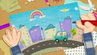 Клео - забавный щенок Сезон 1 Хочу в школу
