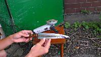 KREOSAN Все видео Как сделать ЭЛЕКТРО НОЖ из трансформатора от микроволновки