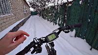 KREOSAN Все видео На что способен Электро-Велосипед ЗИМОЙ Суровый тест мотор колеса