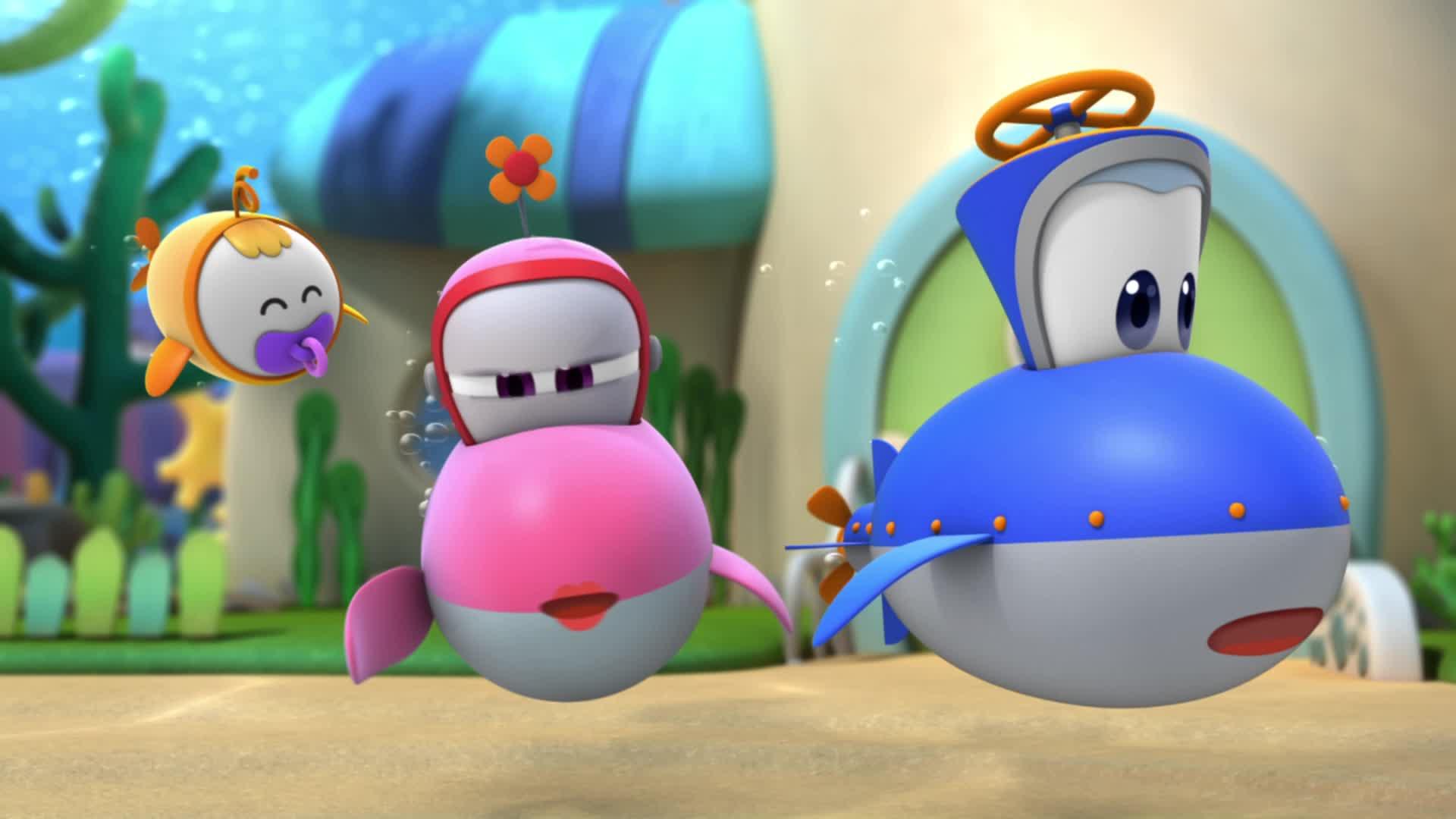 Марин и его друзья Марин и его друзья 1- Здравствуй, Аквавилль!