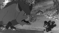Мишка-задира