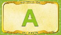 Мультипедия животных Немецкий алфавит Немецкий алфавит - Buchstabe A - der Adler