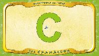 Мультипедия животных Немецкий алфавит Немецкий алфавит - Buchstabe C - das Chamäleon