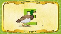 Мультипедия животных Немецкий алфавит Немецкий алфавит - Buchstabe E - die Ente
