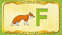Мультипедия животных Немецкий алфавит Немецкий алфавит - Buchstabe F - der Fuchs
