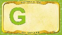Мультипедия животных Немецкий алфавит Немецкий алфавит - Buchstabe G - der Gepard