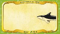 Мультипедия животных Немецкий алфавит Немецкий алфавит - Buchstabe H - der Hai