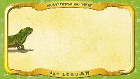 Мультипедия животных Немецкий алфавит Немецкий алфавит - Multipedia der Tiere. Buchstabe L - der Leguan