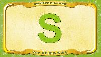 Мультипедия животных Немецкий алфавит Немецкий алфавит - Multipedia der Tiere. Buchstabe S - der Schakal