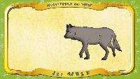 Мультипедия животных Немецкий алфавит Немецкий алфавит - Multipedia der Tiere. Buchstabe W - der Wolf