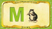 Русский алфавит - Серия 54 - Буква М - Мышь