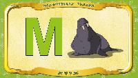 Мультипедия животных Українська абетка Українська абетка - Літера М - Морж