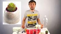 Roman Ursu Поделки своими руками Поделки своими руками - Как сделать оригинальные вазоны своими руками в домашних условиях