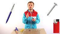 Roman Ursu Поделки своими руками Поделки своими руками - Как сделать шпионскую ручку электрошокер своими руками