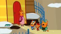 Три кота 1 сезон 15 серия. Пришла весна