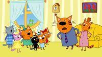 Три кота 1 сезон 39 серия. День черного кота