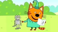 Три кота 3 сезон 124 серия. Робокот Компота