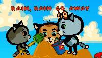 Три котёнка (на английском) Считалки (на английском языке) Считалки (на английском языке) - Серия 7. Rain, Rain, Go Away