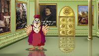 Уроки тетушки совы Всемирная картинная галерея Всемирная картинная галерея - Эжен Делакруа